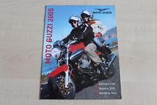 160536) Moto Guzzi Breva V 1100 + Modellprogramm - Prospekt 04/2005