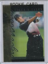 TIGER WOODS 2001 Upper Deck ROOKIE CARD Golf Trading BACK ON TOP RC!