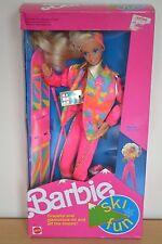 1990 playline collector Winter fun barbie