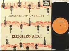 Decca LXT 5569 Ruggiero Ricci, Paganini, 24 Caprices for solo violin