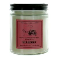 New York Candle 9 oz Highly Scented Soy Candle - Mulberry