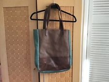 Fat Face large leather tote excellent condition