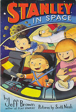 Flat Stanley: Stanley in Space by Jeff Brown (Paperback)