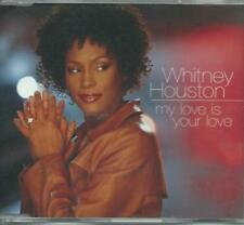 CD - WHITNEY HOUSTON my love is your love