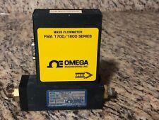 OMEGA ENGINEERING MASS FLOWMETER FMA1728 / FMA1700 / fma1800 series