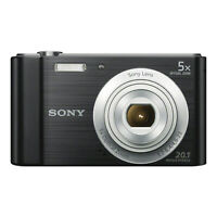 Sony Cyber-shot DSC-W800 20.1MP Digital Camera Black-FOR PARTS/REPAIR