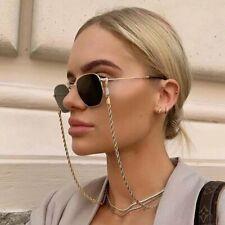 Women Fashion Gold Sunglasses Chain Eyeglasses Holder Necklace Eyewear Retainer