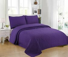 Home Bedding 3-Piece Full/Queen/King Oversize Bedspread Coverlet Bedding Set.