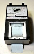 Vintage Simpson Multicorder 604 DC AC Volt Amp Meter Recorder Printer