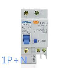 32Amp 30mA 1Pole RCD/RCCB  Residual Current  Circuit Breaker CHINT DZ47LE-32