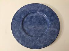 """Christofle Paris Special Lave-Vaisselle France Blue Dinner Plate, 12 1/4"""" Dia"""