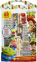 Disney Toy Story Art Set For Children, 80 Pieces Arts & Crafts For Boys Girls