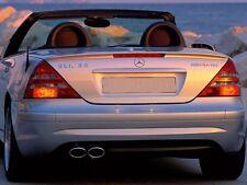 Rear Trunk Spoiler Mercedes R170 A Type SLK200 200K 230K SLK320 AMG63 1996-2004