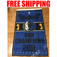 Dallas Mavericks Champions Flag NBA Basketball Banner 3X5 ft 2 Gromments