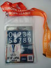 Personal Pass & Keyholder UEFA EL Finale 2017 Ajax Amsterdam - Manchester Utd #2