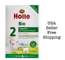 Holle Organic Goat Milk Formula Stage 2 400g Free Shipping 05/2020,4boxes