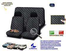 Coprisedili Autobianchi Y10 fodere colore nero rombi trapuntato imbottito auto