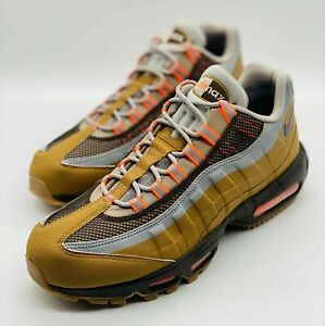 NEW Nike Air Max 95 Utility Ridgerock Moon Orange BQ5616-200 Size 11