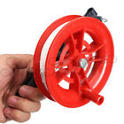 Outdoor Fire Wheel Kite Winder Tool Reel Handle W/ 100M Twisted String Line !