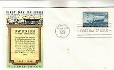 958 Swedish Pioneer Centennial First Day Cover