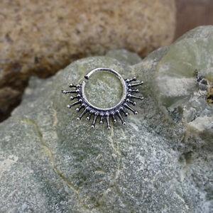 Indian Septum Ring Tribal Septum 16g Septum Piercing Christmas day Nose Piercing