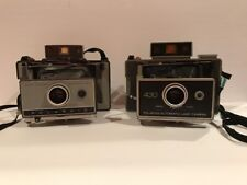 Vintage  Polaroid Automatic 230 And 430 Land Camera's