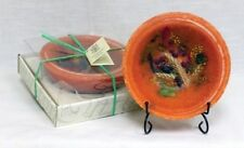 Harvest Home Habersham Candle Co. Wax Pottery Vessel / Flameless Bowl Candle
