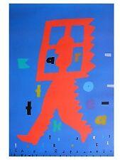 Polish poster by Lech Majewski