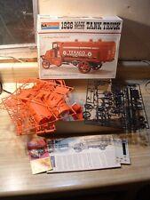 1926 MACK BULLDOG TEXACO TANK TRUCK ~ 1974 MONOGRAM MODEL KIT #7539~ 1/24