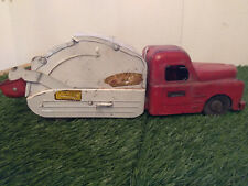 Structo Antique Utility Garbage Truck with Fireball Motor