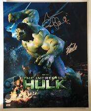 Stan Lee Mark Ruffalo Signed Autographed 16x20 Photo JSA CELEBRITY AUTHENTICS 1