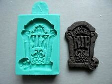 Silicone Mould / HALLOWEEN Headstone 3 by DOMOZETOV ART /