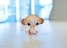 Swarovski Lovlots Chinese Zodiac Ki Ki the Monkey Peach 5004619 Brand New In Box