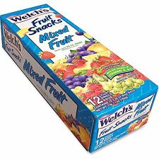 Welch'S Fruit Snacks Fat Free 2.25 oz Packs 12/BX 3124