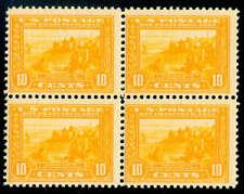 momen: Us Stamps #400 Block of 4 Mint Og Nh Cv $1,080