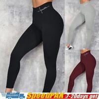 Damen Leggings Sporthose Laufhose Fitness Gym Trainingshosen Yoga Sports Leggins