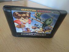 Gunstar Heroes Sega Mega Drive PAL Cart Only -