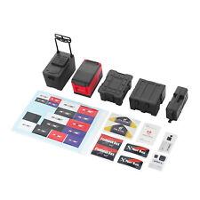 Decorative Refrigerator Medical Fuel Tank ToolBox Set for 1/10 TRX4SCX10 RC Car