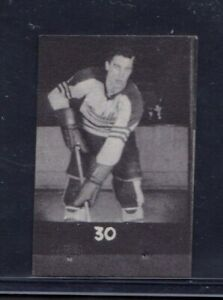 1949/50 Jean Beliveau Quebec Aces #30 QSHL Hockey Card