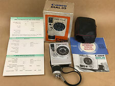 Canon Dial 35mm Half Frame Film Camera w/ 28mm f/2.8 Lens + Box & Manuals