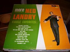 MORE NED LANDRY FIDDLE FAVORITES-LP-VG+-ARC RED LABEL-SAINT JOHN,NEW BRUNSWICK