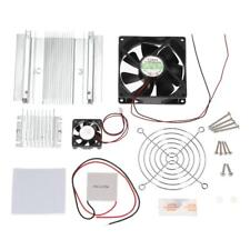 TEC1-12706 Thermoelectric Peltier Cooler System Kit Module Radiator Cooling Fan