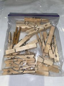 JOB LOT Pack Of Wooden Pegs Assortment Arts And Craft Supplies