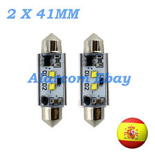2 x BOMBILLAS led 41 mm C5W Festoon LED CREE 14W Canbus No Error #1012