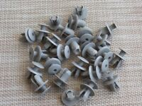 30x Door Panel Mounting Clips for VW POLO CADDY GOLF TOURAN T4 T5 LT