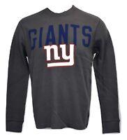 NFL Team Apparel Mens New York Giants Thermal Long Sleeve Shirt New S,M,L,XL,2XL