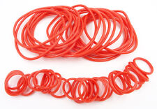 New High Quality 36 Piece Red Jelly Bracelets & Rings Set #B2010RED
