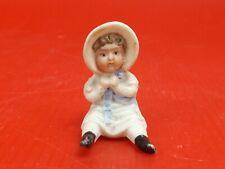 Petite Poupée, Miniature en Porcelaine, vers 1900. Maison de Poupée