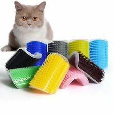 Self Groomer Cat Scratcher Scratching Dot Pet Animal Wall Corner Brush Comb Arch