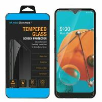 MagicGuardz® Premium HD-Clear 9H Tempered Glass Screen Protector For LG K51